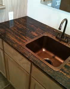 Epoxy Kitchen Countertops Best 20 Copper Countertops Ideas On Inexpensive Kitchen Countertops Copper