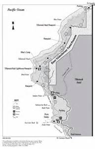 Ecola State Park Map by Cascade Paragliding Ecola