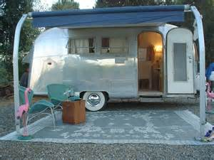 Air Awnings For Caravans 1963 Airstream Globetrotter