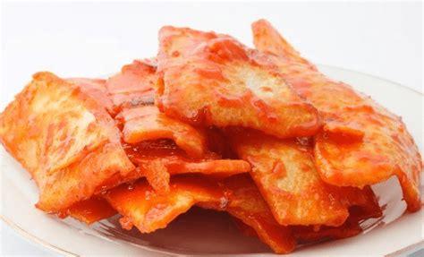 resep keripik kentang goreng balado pedas gurih renyah