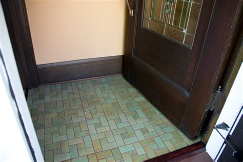 craftsman style flooring beautiful green handmade tiles for entry floor mercury
