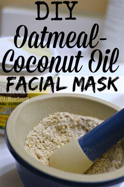oatmeal diy mask stress relief diy oatmeal coconut mask dddivas
