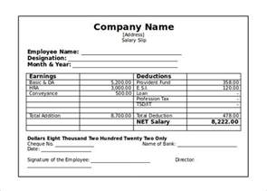 paycheck template word 21 pay stub templates free sles exles formats