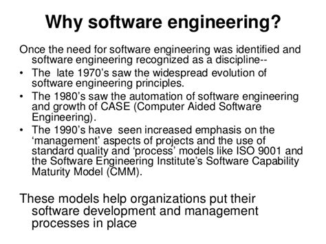Software Engineering 3 software engineering