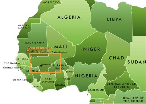 map of west africa mali africa report well but only w u s non committal stance etc