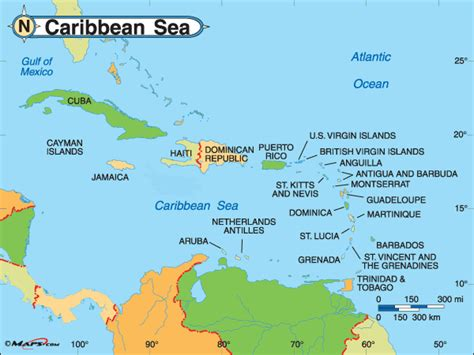 map of caribbean with country names visa information for caribbean projectvisa