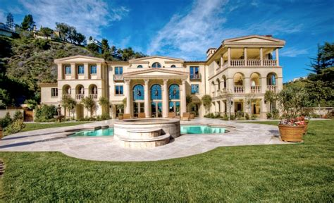 Townhouse Plans For Sale by 19 Million 19 500 Square Foot Tuscan Mansion In Los