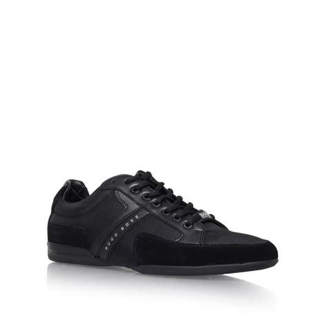 hugo sneaker shoes nos spacit sneaker in black for save 9 lyst