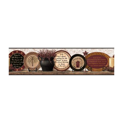 Bronze Kitchen Canisters york wallcoverings best of country country plates