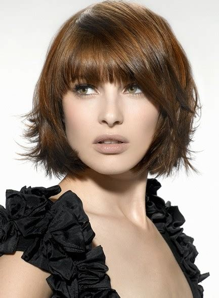 do short blunt curly haircuts look good on heavy women stylish straight hairstyles for short hair popular haircuts