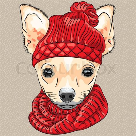 imagenes hipsters de animales color sketch of the cartoon hipster cute dog chihuahua