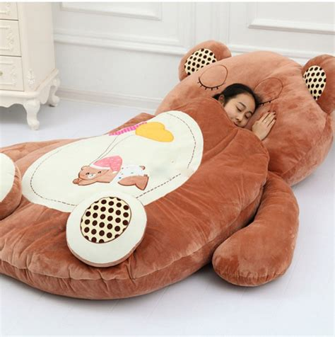 aliexpress com buy giant sleeping bag soft plush animal