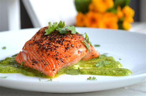 salmon food cilantro salmon karista s kitchen