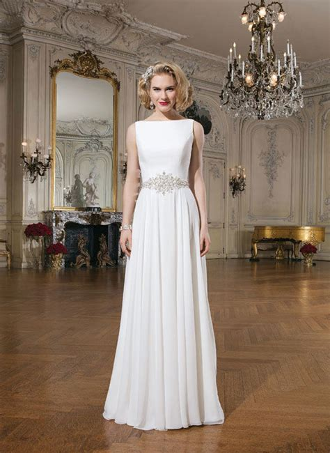 boat neck dress wedding guest boat neck wedding dress