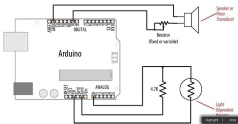 arduino ldr circuit does not change sound frequency
