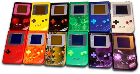 game boy color screen mod one mans journey into the world of gameboy modding