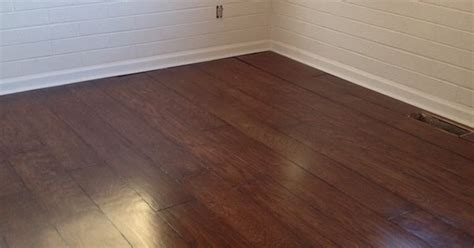 DIY Plywood floors. 1/4 cabinet grade oak plywood. 4x8