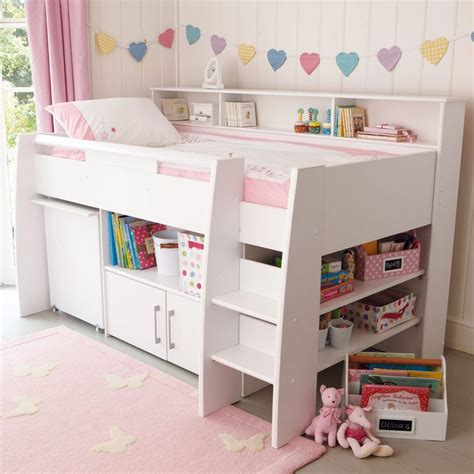 Small Mid Sleeper Bed by 1000 Ideas About Childrens Beds On High