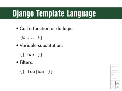 django template language django template language call a