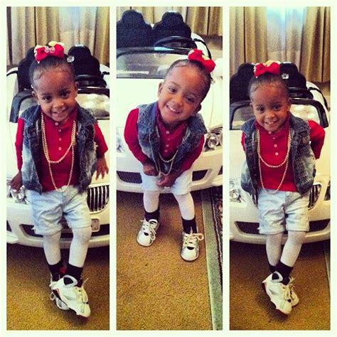cute girls with swag black kids 17 best images about baby swag on pinterest
