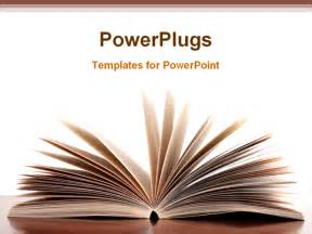 powerpoint templates books a book is opened powerpoint template background of