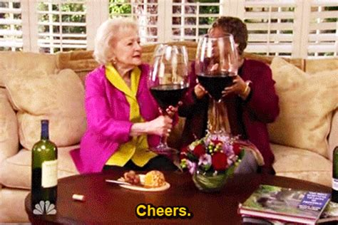 wine birthday gif betty white s reddit ama was as awesome as you d expect