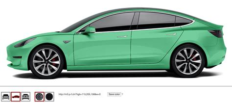 model 3 colors play with tesla model 3 colors rims cleantechnica
