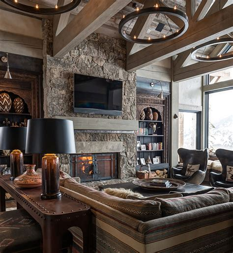 montana home decor 10 chalet chic living room ideas for ultimate luxury and