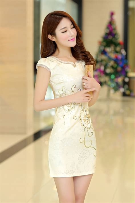 Product Import Jacuard Cheongsam Import Cg4244 White cheongsam dress import ds4099 gold tamochi