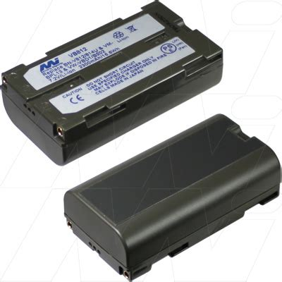 Battery Replacement Panasonic Hitachi Jvc Rca Bn V812814u 2300mah vb812 bp1 camcorder surver equipment battery