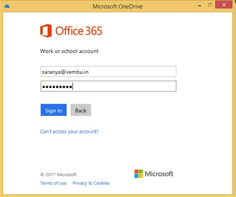 Office 365 Home Login What Is Onedrive For Business A Brief Overview Vembu