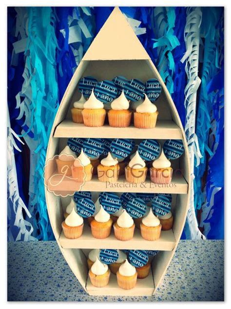boat shelf for cupcakes 26 best images about sailor party on pinterest sailboats