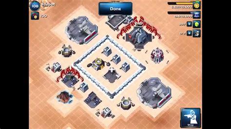 layout manager star wars commander star wars commander best level 2 hq base layout youtube