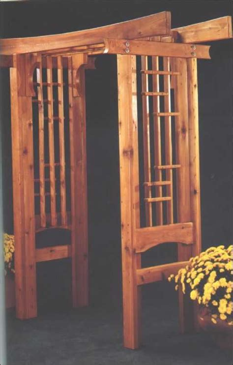 garden arbor woodworking plans arbors and pergolas project plans 2000 great