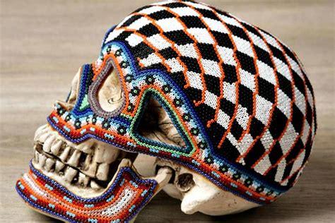 mexican beaded skulls beaded skulls my inspiration
