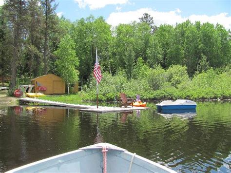 northern lights resort ely mn approaching the marina dock free paddle boat picture