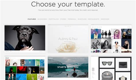 free squarespace templates squarespace review 2017 pros and cons of the website builder