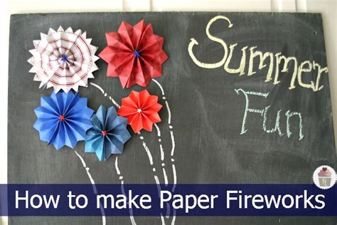 How To Make Fireworks Out Of Paper - 18 diy patriotic crafts and decorations hoosier