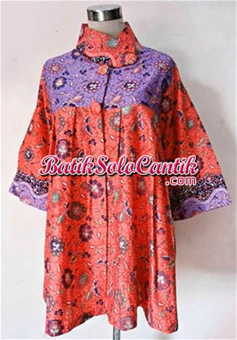 Bolero Modern Katun Bordir Mix Batik Bolero Nalika kain tenun rang rang model blazer baju kerja batik