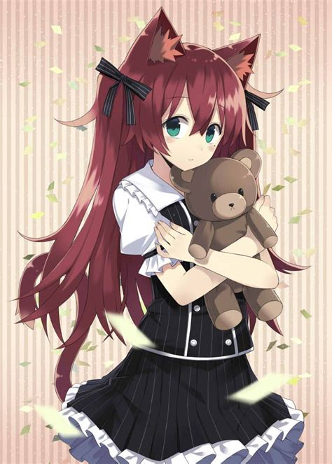Anime Neko by Neko With Teddy Anime Hair