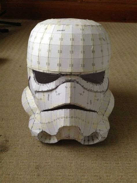 Stormtrooper Helmet Papercraft - 17 best ideas about pepakura helmet on foam