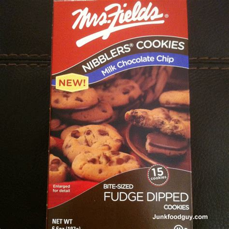 mrs fields nibblers review new mrs fields nibblers milk chocolate chip chocolate fudge peanut butter cup