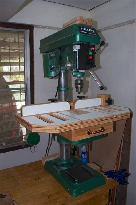 drill press table woodworking plans drill press table by gipson lumberjocks