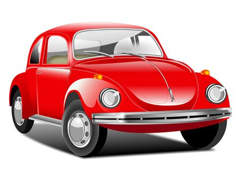 volkswagen red car beetle car red