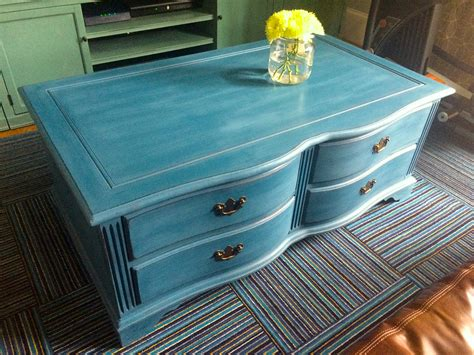 coffee table coffee table almost finished blue coffee