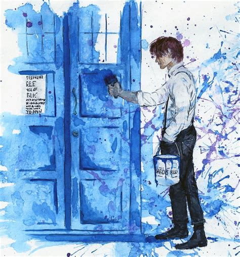 tardis blue by alex soler on deviantart
