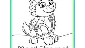 paw patrol paw patrol meet everest colouring pack colouring pages preschoolers nick jr uk