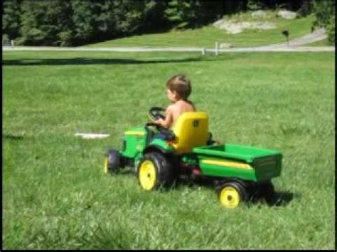 The Green Tractor big green tractor