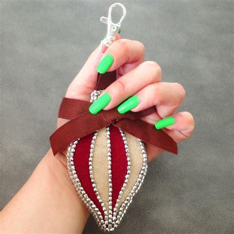 diy ornaments tutorials free diy tutorial ornament bag charm