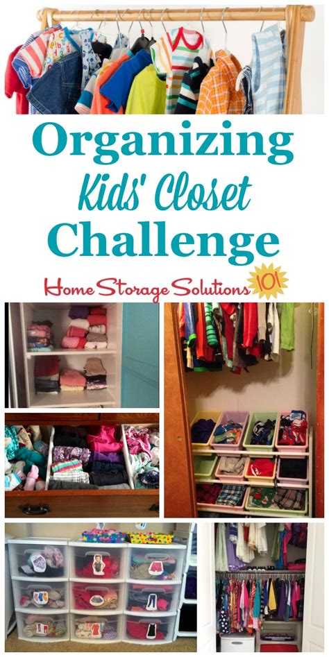 organizing challenge kids closets a organizing closet challenge declutter organize kids